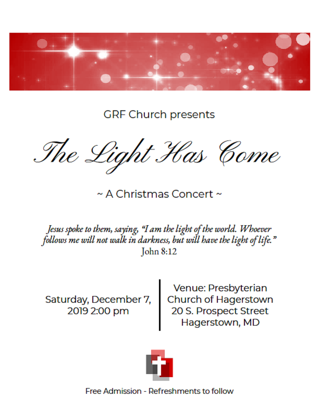Christmas Concert @ The Presbyterian Church of Hagerstown